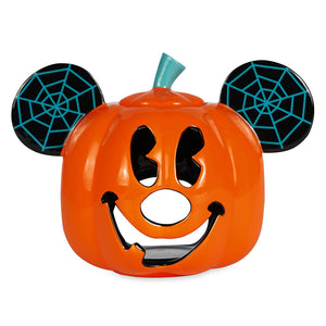 Disney Mickey Mouse Jack o'Lantern Halloween Votive Candle Holder New