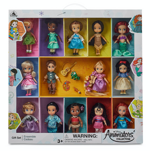 Disney 2020 Animators' Collection Mini Doll Gift Set New with Box