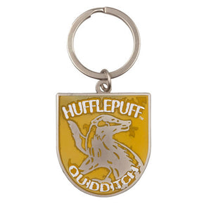 Universal Studios Harry Potter Quidditch Hufflepuff Keychain New with Tags