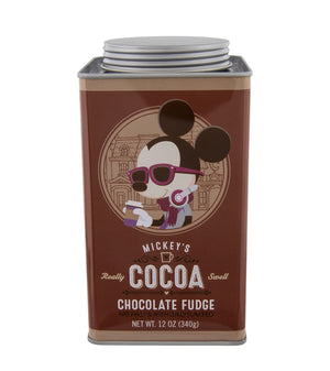 Disney Parks Cocoa Mickey's Really Swell Chocolate Fudge Tin New