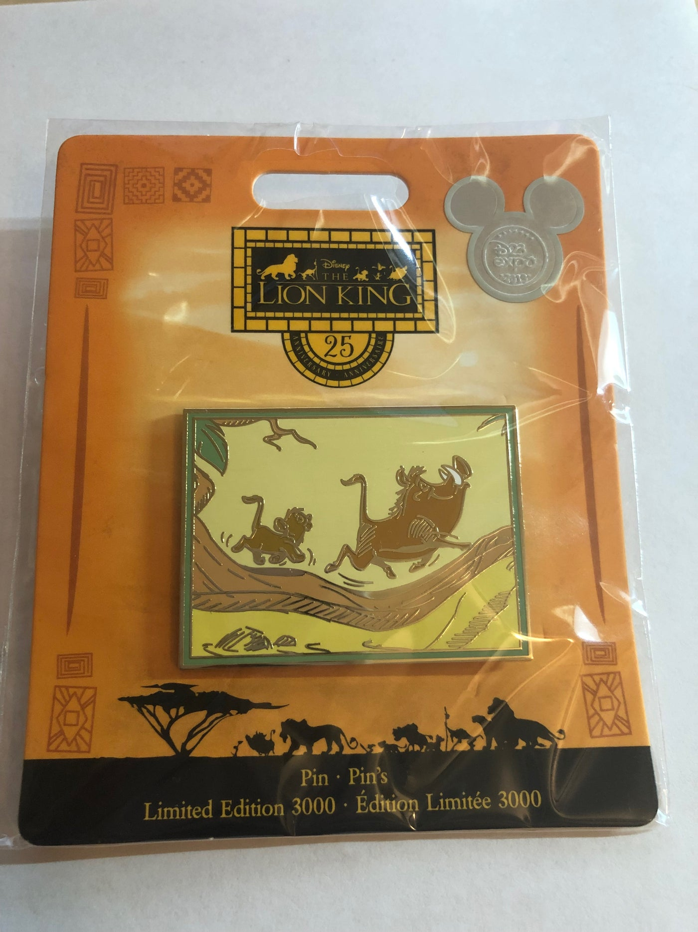 Disney D23 Expo 2019 The Lion King Limited Of 3000 Pin New With Card