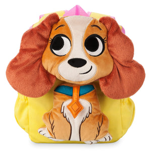 Disney Lady Backpack for Girls Furrytale Friends Plush New with Tags