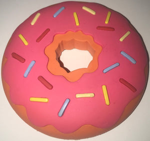 Universal Studios The Simpsons Sprinkled Donut Magnet Lard Lad Pink Donut New