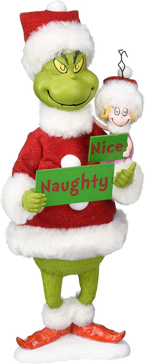 Jim Shore Grinch Naughty or Nice Figurine New with Box