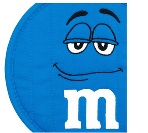 M&M's World Blue Character Pott Holder New with Tag