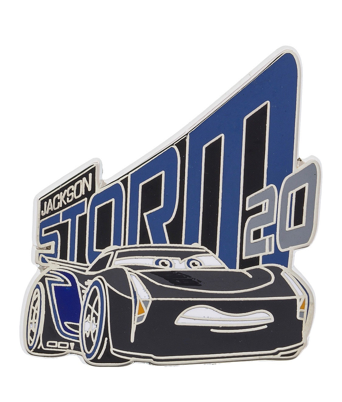 Disney Parks Cars 3 Jackson Storm Pin New With Card