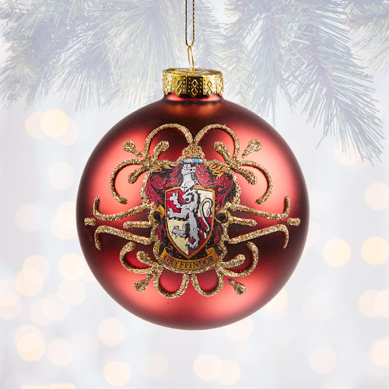 Harry Potter Christmas Ornaments Universal Studios.Universal Studios Harry Potter Gryffindor Ball Christmas Ornament New With Tags