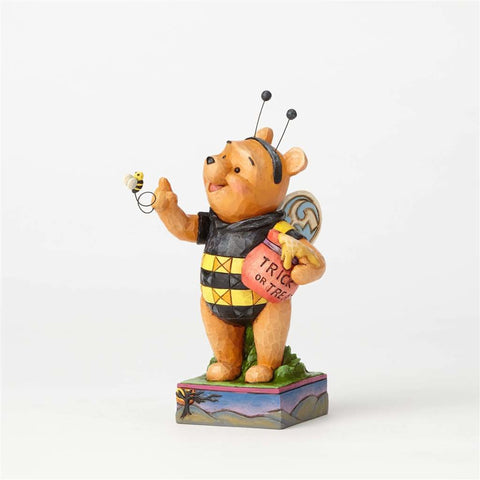 Disney Traditions Halloween Winnie as Honey Bee Jim Shore Figurine New with Box