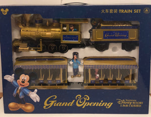 Disney Parks Shanghai Grand Opening Train Set Railroad Playset New with Box