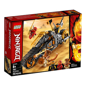 Lego 70672 Cole's Dirt Bike Dirt Bike Stud Shooter Building Kit New with Box