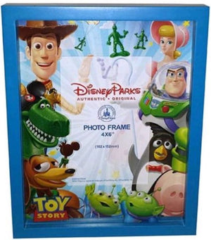Disney Parks Shanghai Shadow Box Toy Story Photo Frame New with Box
