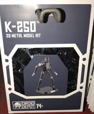 Disney Parks Star Wars K-2SO Droid Factory Metal Model Kit 3D Galaxy Edge New