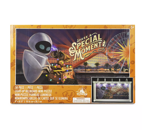 Disney WALL-E and E.V.E. Light-Up Billboard Mini Puzzle New with Box