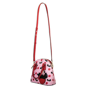 Disney Mickey Mouse Ear Hat Small Satchel Pink Kate Spade New York New with Tag