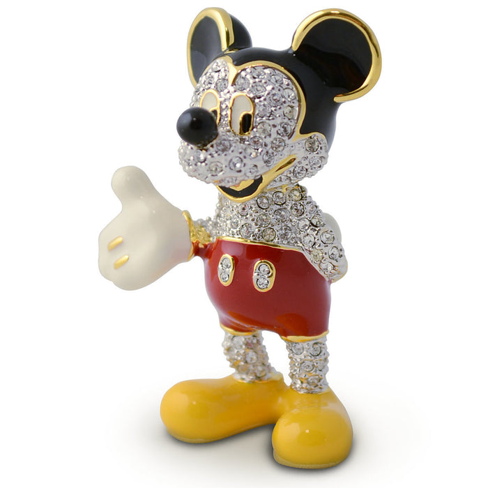 Disney Mickey Mouse Jeweled Figurine by Arribas New