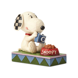 Peanuts Foodie Snoopy Jim Shore Figurine New with Box