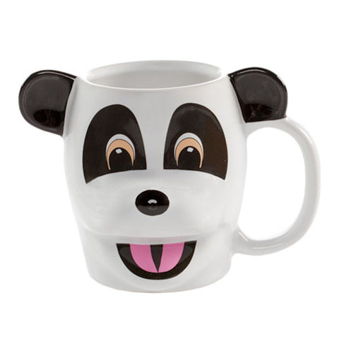 Universal Studios Hashtag The Panda Sculpted Ceramic Coffee Mug New
