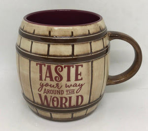 Disney Epcot Food and Wine Festival 2020 Taste Your Way Around the World Mug New