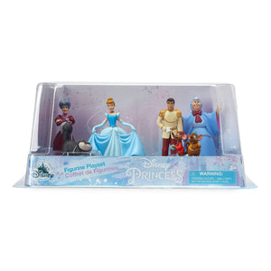 Disney Cinderella Figure Play Set 70th Anniversary Figure Playset Cake Topper
