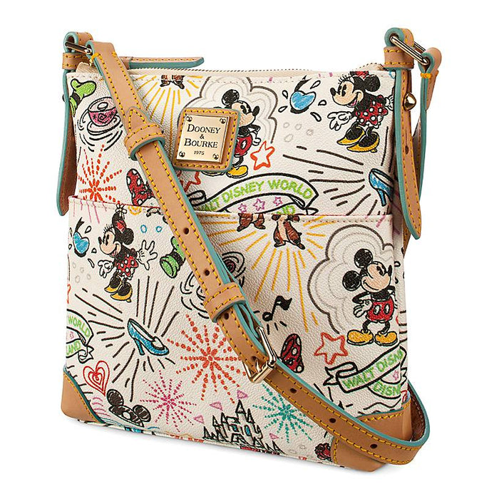 Disney Parks Sketch Crossbody Bag by Dooney & Bourke New with Tag