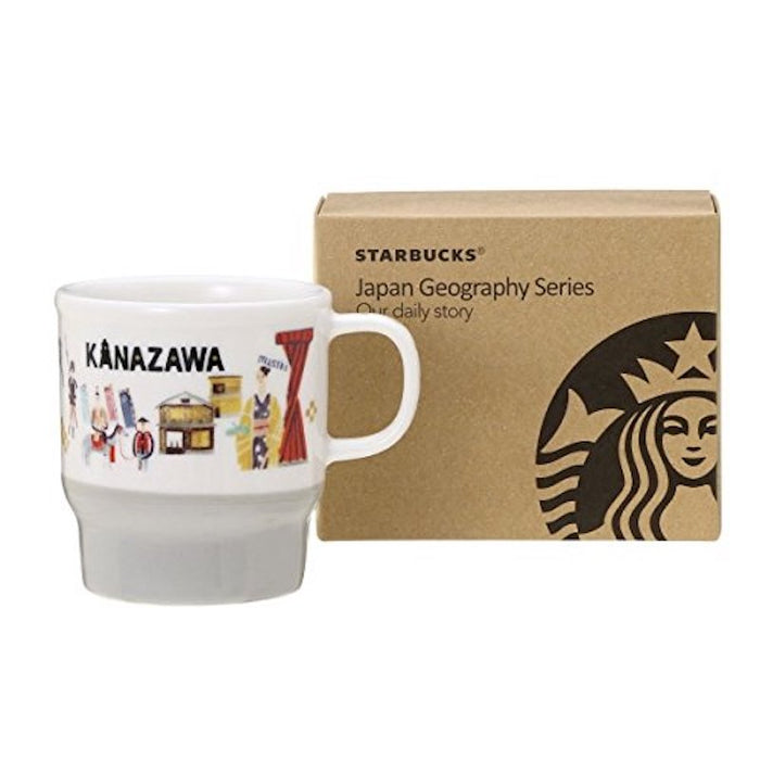 Starbucks Japan Geography Series City Mug - Kanazawa New with Box