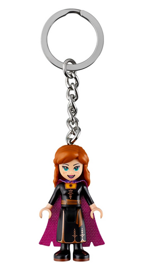 Lego Disney Frozen 2 Anna Key Chain 853969 New with Tag