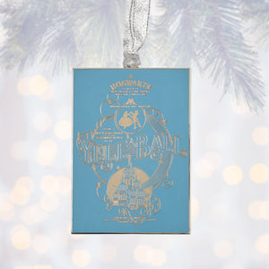 Universal Studios Harry Potter Yule Ball Invitation Metal Ornament New with Tag