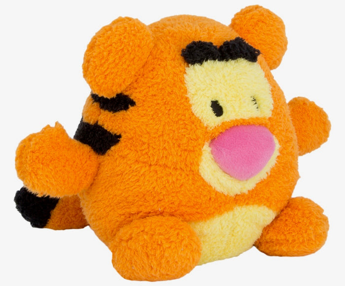 "disney parks authentic 7"" tigger soft round plush pillow new with tags"