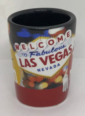 M&M's World Welcome to Fabulous Las Vegas Sign Yellow and Red Character Shot New