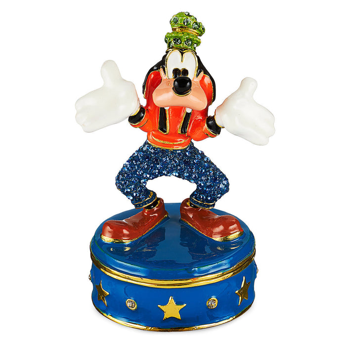 Disney Parks Goofy Trinket Box by Arribas Brothers New with Box