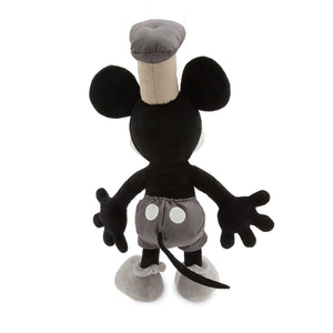 Disney Store Mickey Mouse Plush Steamboat Willie Medium Toy New With Tags