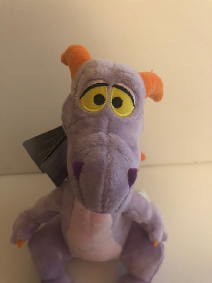 Disney Parks 9inc Figment Mascot Plush New with Tags