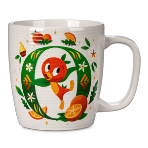 Disney Parks ABC Letters O is for Orange Bird Ceramic Coffee Mug New