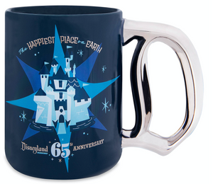 Disney Disneyland 65th Anniversary The Happiest Place on Earth Coffee Mug New