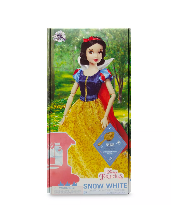 Disney Princess Snow White Classic Doll with Brush New with Box