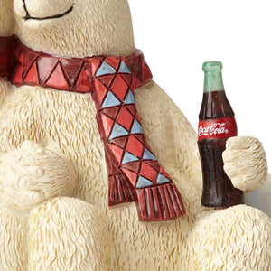 Coca Cola Polar Bear Couple Coke Figurine by Jim Shore New with Box
