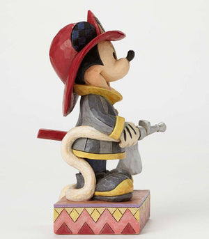 Disney Jim Shore Traditions Mickey Mouse To The Rescue Figurine New with Box