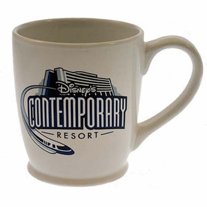 Disney Parks Contemporary Resort Ceramic Coffee Mug New