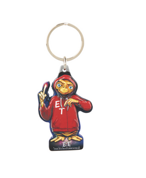 Universal Studios E.T. Red Sweatshirt Full Body Keychain Keychain New with Tags
