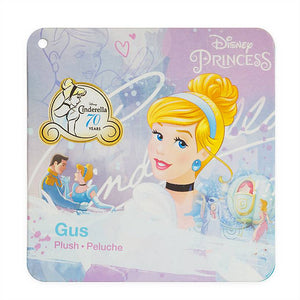 Disney Store Princess 70th Cinderella Gus Mini Bean Bag Plush New with Tag