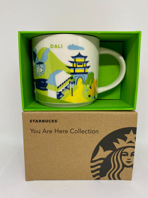 Starbucks You Are Here Collection Dali China Ceramic Coffee Mug New With Box
