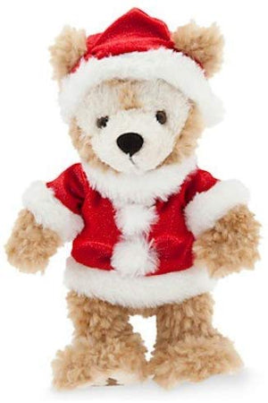 "Disney Parks Santa Duffy Plush 9"" New With Tags"