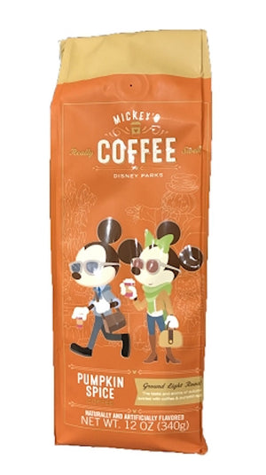 Disney Mickey's Coffee Pumpkin Spice 12oz. New Sealed
