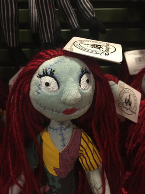 "disney parks nightmare before christmas 9"" sally rag doll plush new with tags"