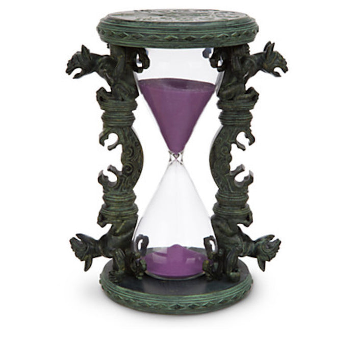 disney parks the haunted mansion resin hourglass antiqued finish new with tag