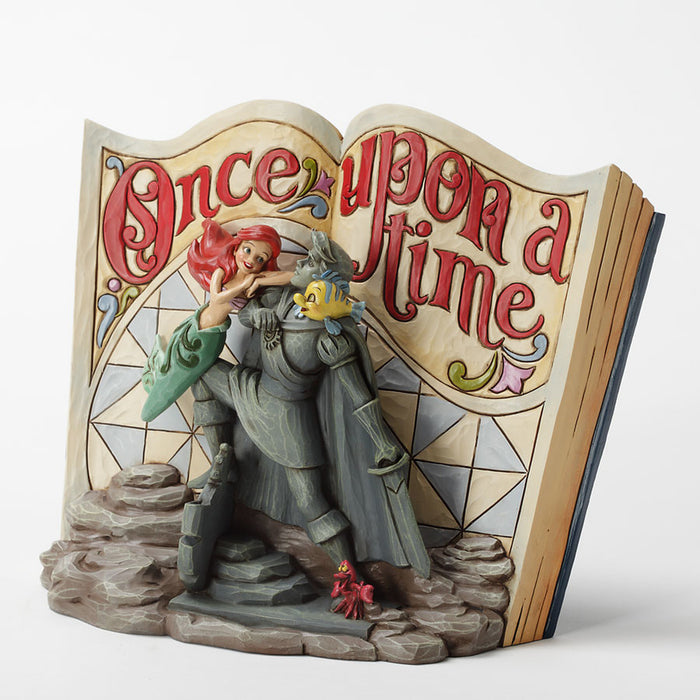 disney jim shore Traditions little mermaid storybook figurine new with box