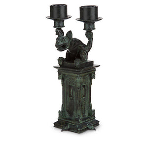 disney parks the haunted mansion gargoyles candle holder candelabra new