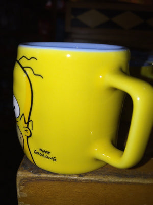 universal studios shot glass mug the simpsons homer hot so hot shot new
