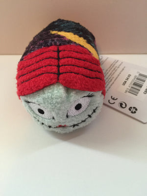 "disney store authentic nightmare before christmas sally tsum 3 1/2"" new with tags"