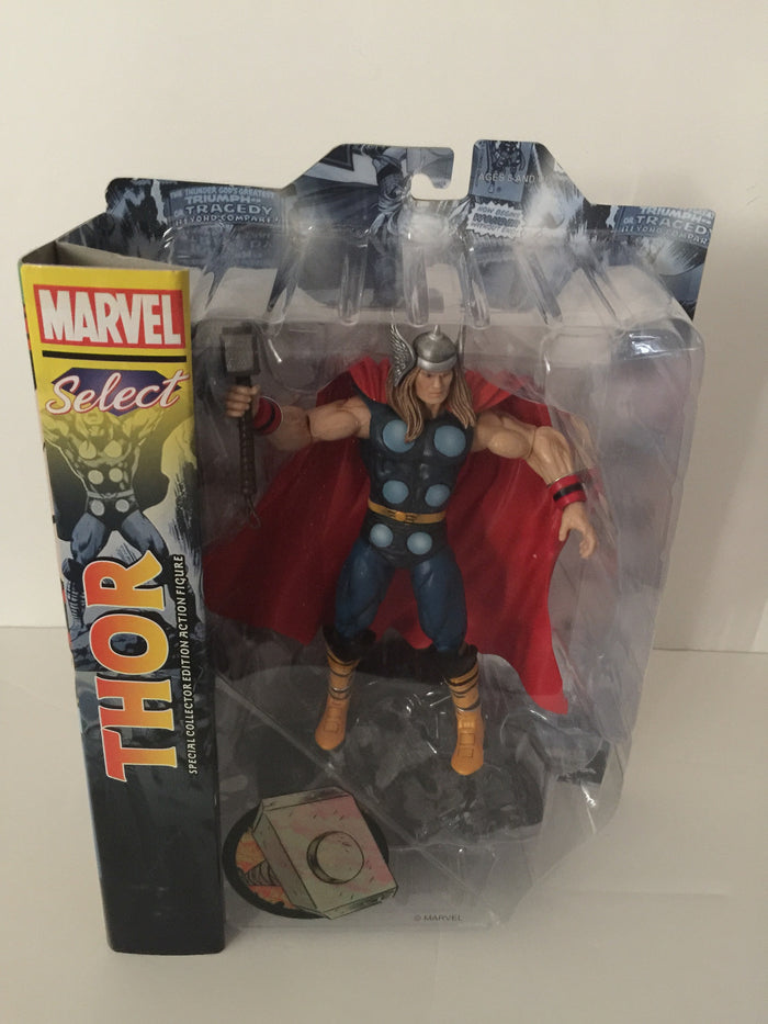 Disney Store The Mighty Thor Action Figure Marvel Select 7'' New With Box